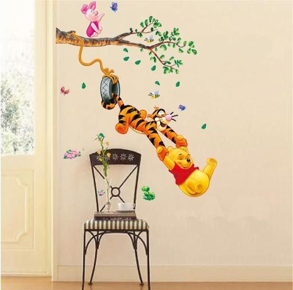 Muursticker Winnie The Pooh.Winnie The Pooh Wall Murals Google Search Stickers For Baby Wall