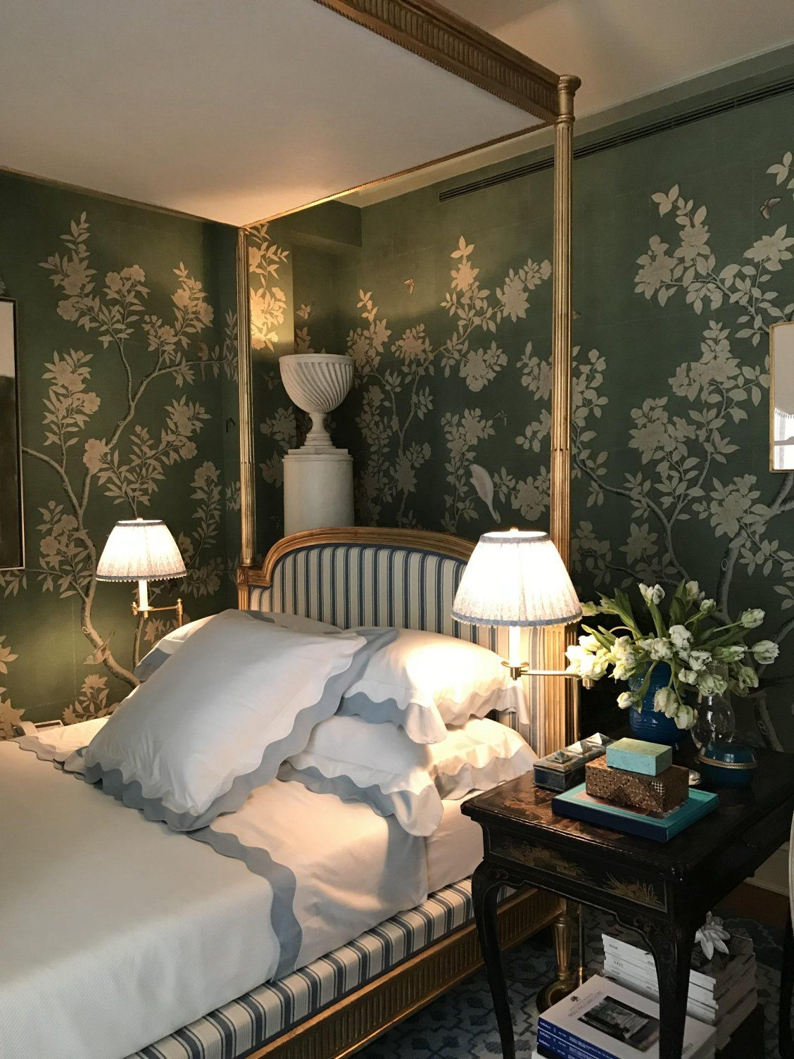 Chinoiserie wallpaper. | french country in 2019 | French country ...