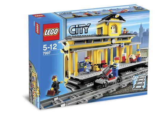 Lego 7997 City Treinstation 7997 Lego City Lego Trein Station