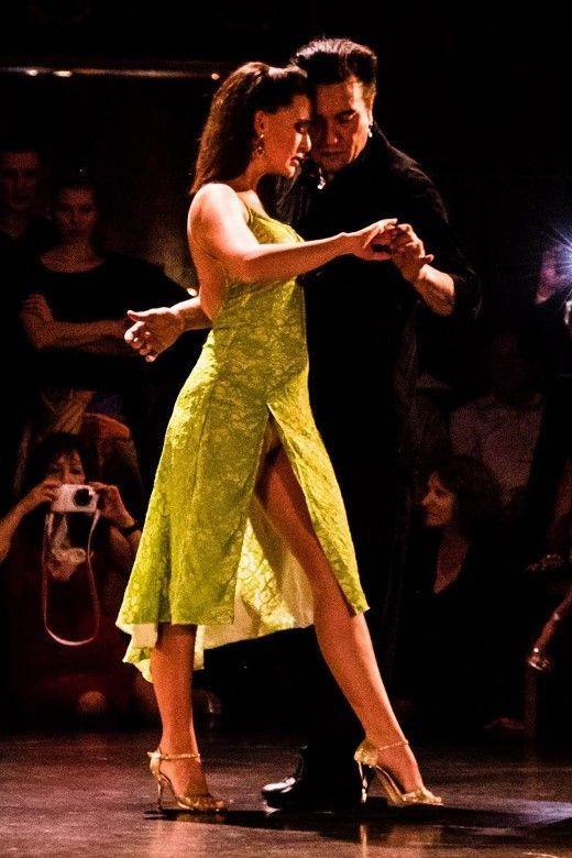 Tango dancers Chicho y Juana @Milongueros all aboard tango ...