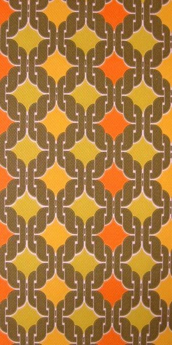Retromania Green | Geometric Wallpaper | Vintage Wallpaper | Johnny-Tapete