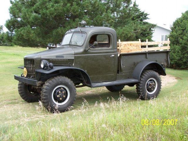 1941 dodge power wagon truck *rare 1941 dodge power wagon wc 1 2 ton