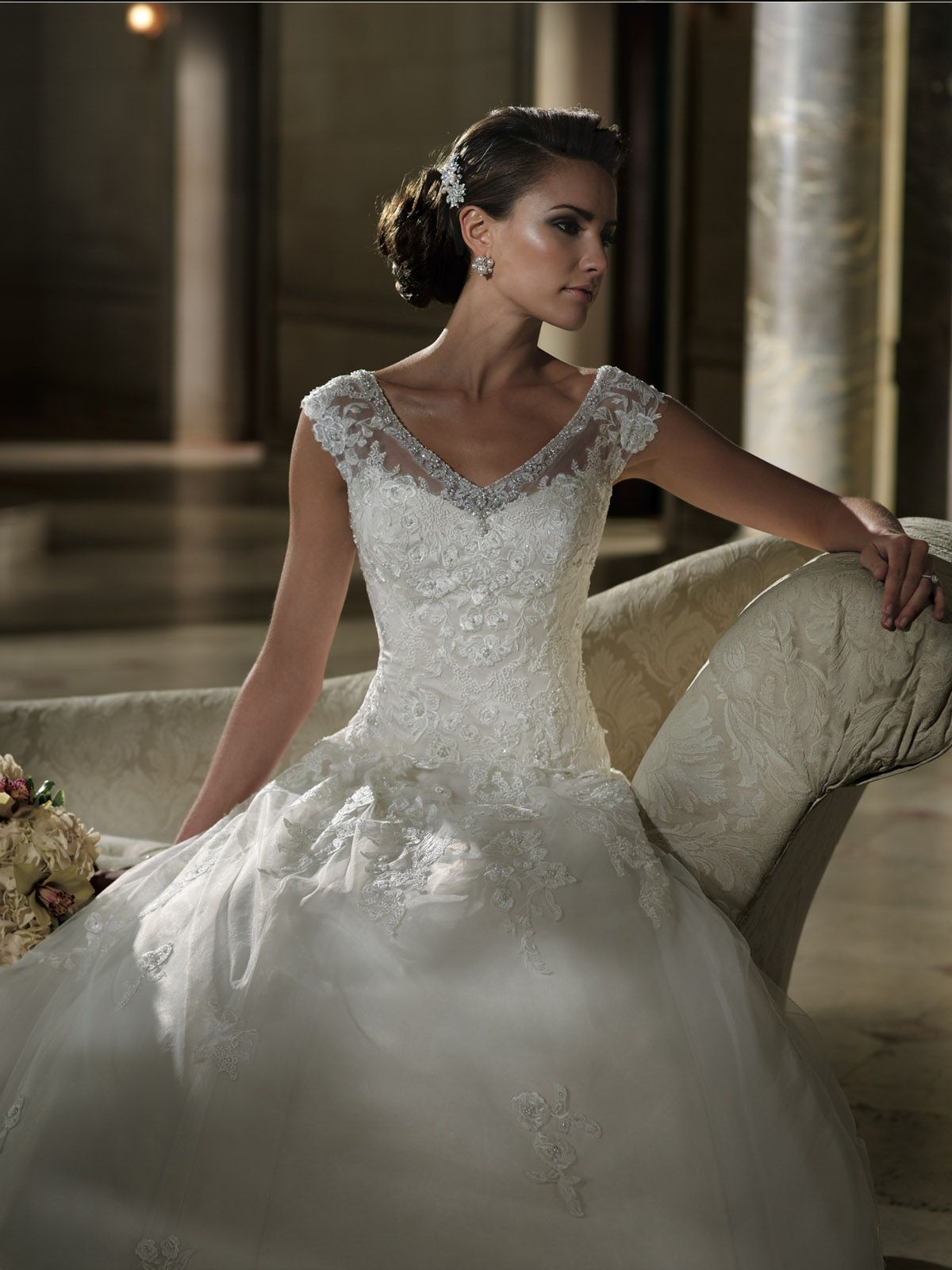 213248 David Tutera For Mon Cheri Wedding Dresses And Bridal Gowns
