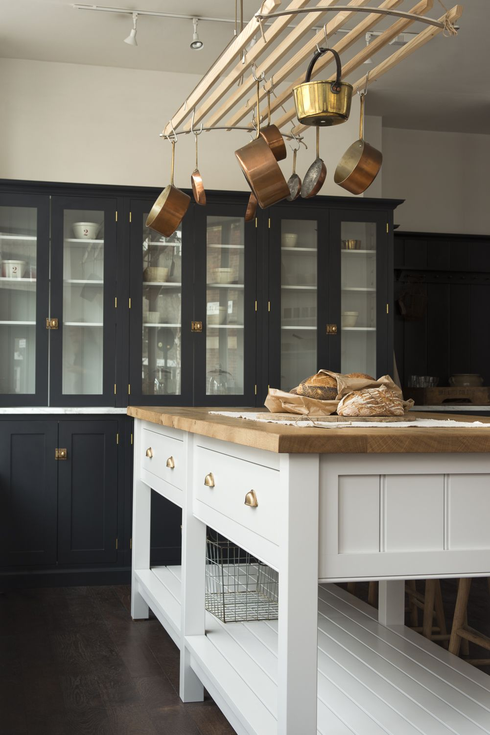 The Classic English Prep Table in deVOL\'s London showroom, just ...
