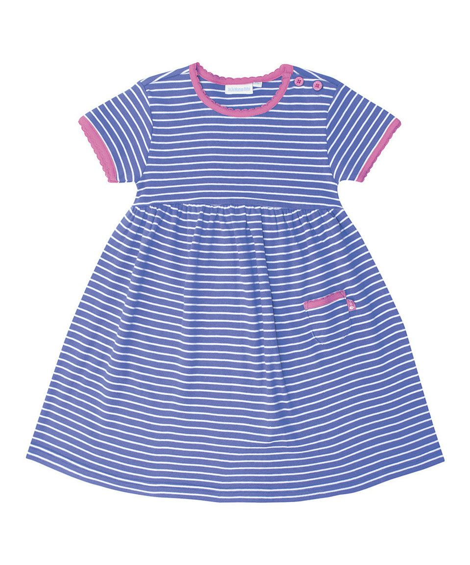 Cornflower Stripe Summer Dress - Infant, Toddler & Girls ...
