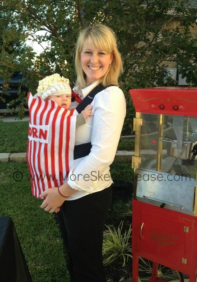 Popcorn Halloween costume ~ wwwMoreSkeesPlease For the baby - baby halloween costumes ideas