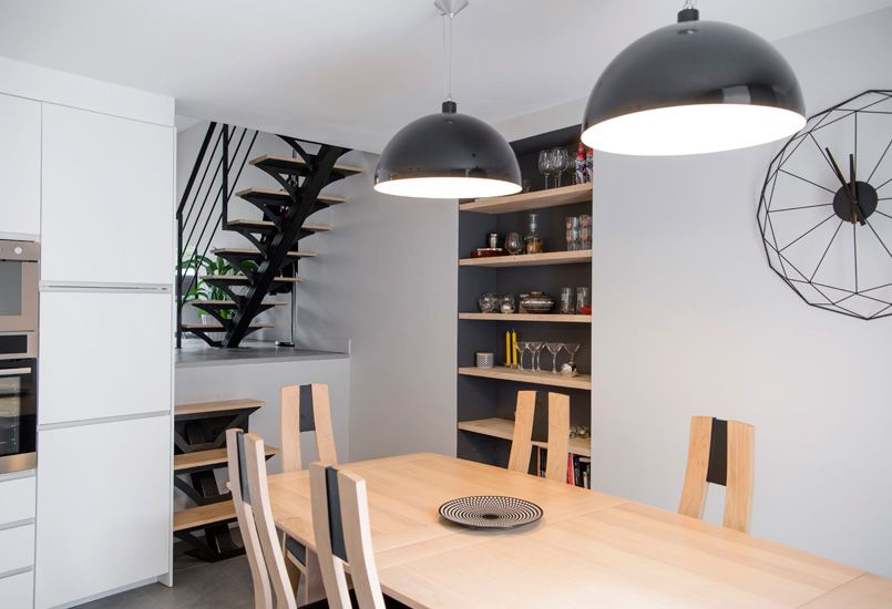 Jeux de niveaux - Plateau - loft - atelier - aménagement - Renovation Meuble En Chene
