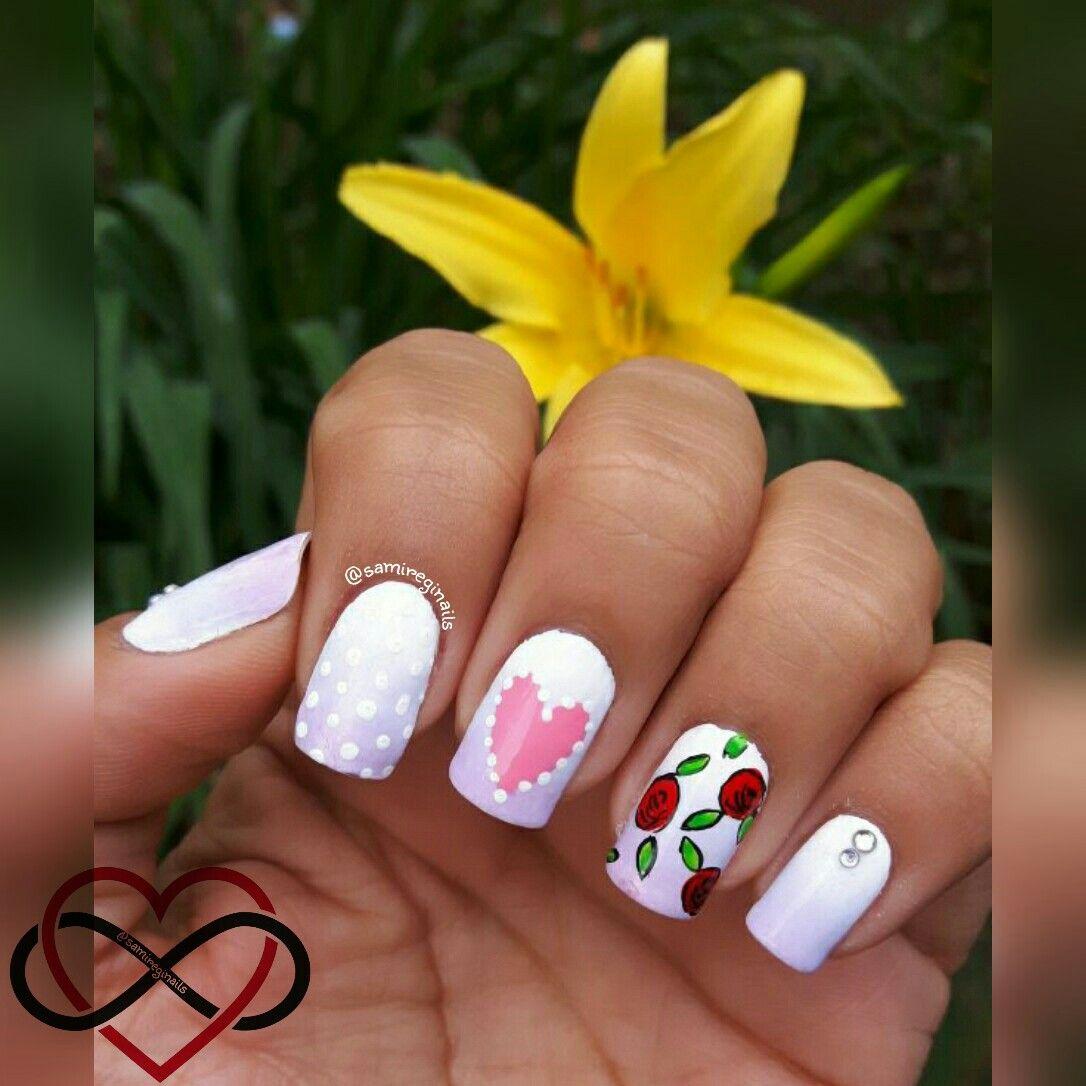 Rosas corazon dia dr madres