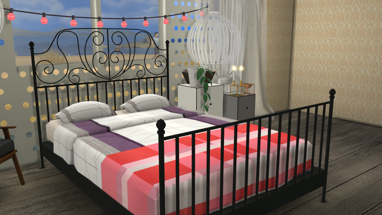 IKEA LEIRVIK Bed Frame and HAY BED LINEN NEW MESH BY ME(BED FRAME ...