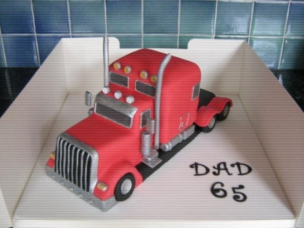 Big Truck Cake Cakes Trucks In 2019 Truck Cakes