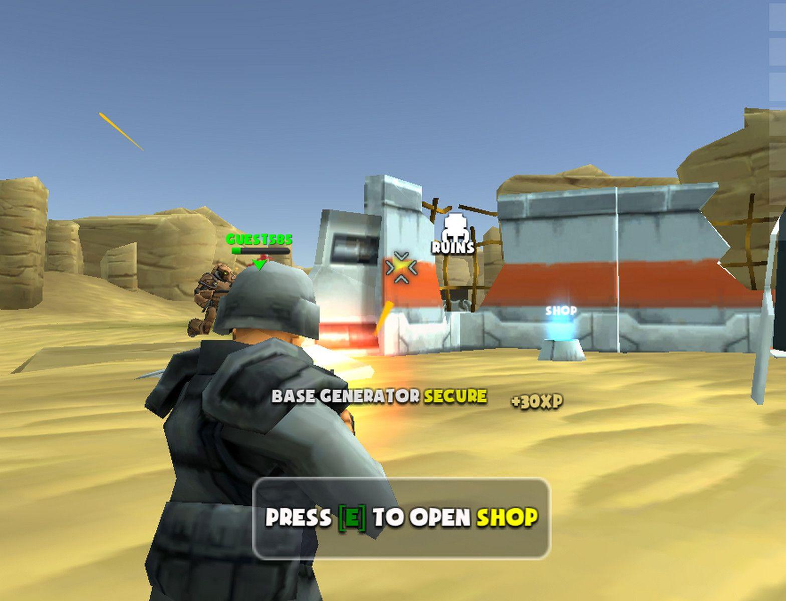 Warscrap.io Fps games, Free game sites