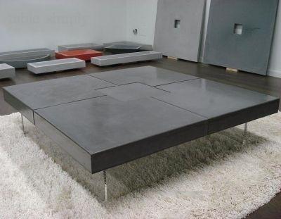 Table Beton Loft Table Loft Bton Cir  Table Beton Beton Et Table