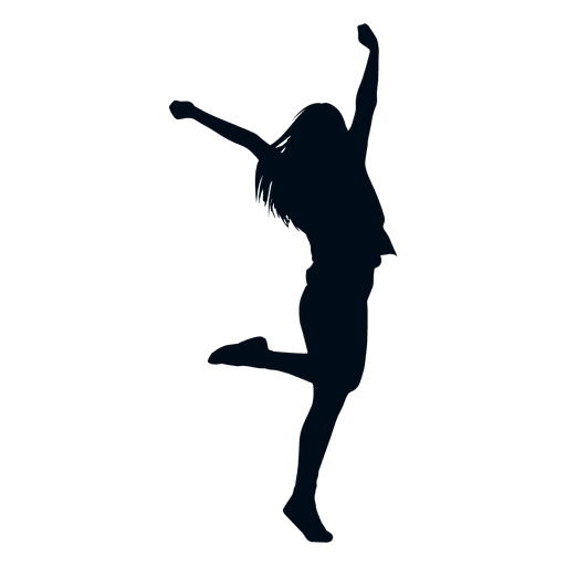 Happy Woman Jumping Silhouette Happy Silhouette Ad Affiliate Paid Woman Happy Silhouette Happy Logo Silhouette Silhouette Vintage Circus Posters