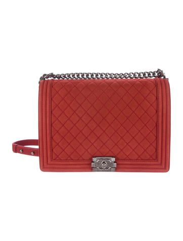 14734cccf7bf Chanel Large Boy Bag Chanel Boy Bag, Coco Chanel, Luxury Consignment, Large  Bags