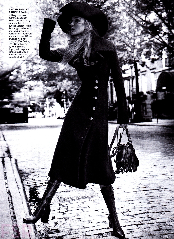 Vogue US November 2014 Caroline Trentini by Inez & Vinoodh