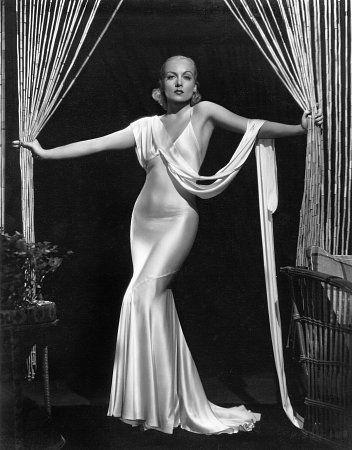 Carole Lombard 1941 Vintage Hollywood Glamour Hollywood Fashion Hollywood Glamour