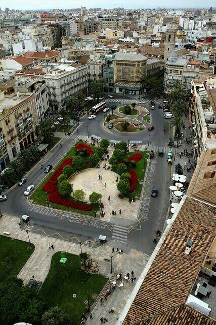 VAlencia. Plaza de la reina
