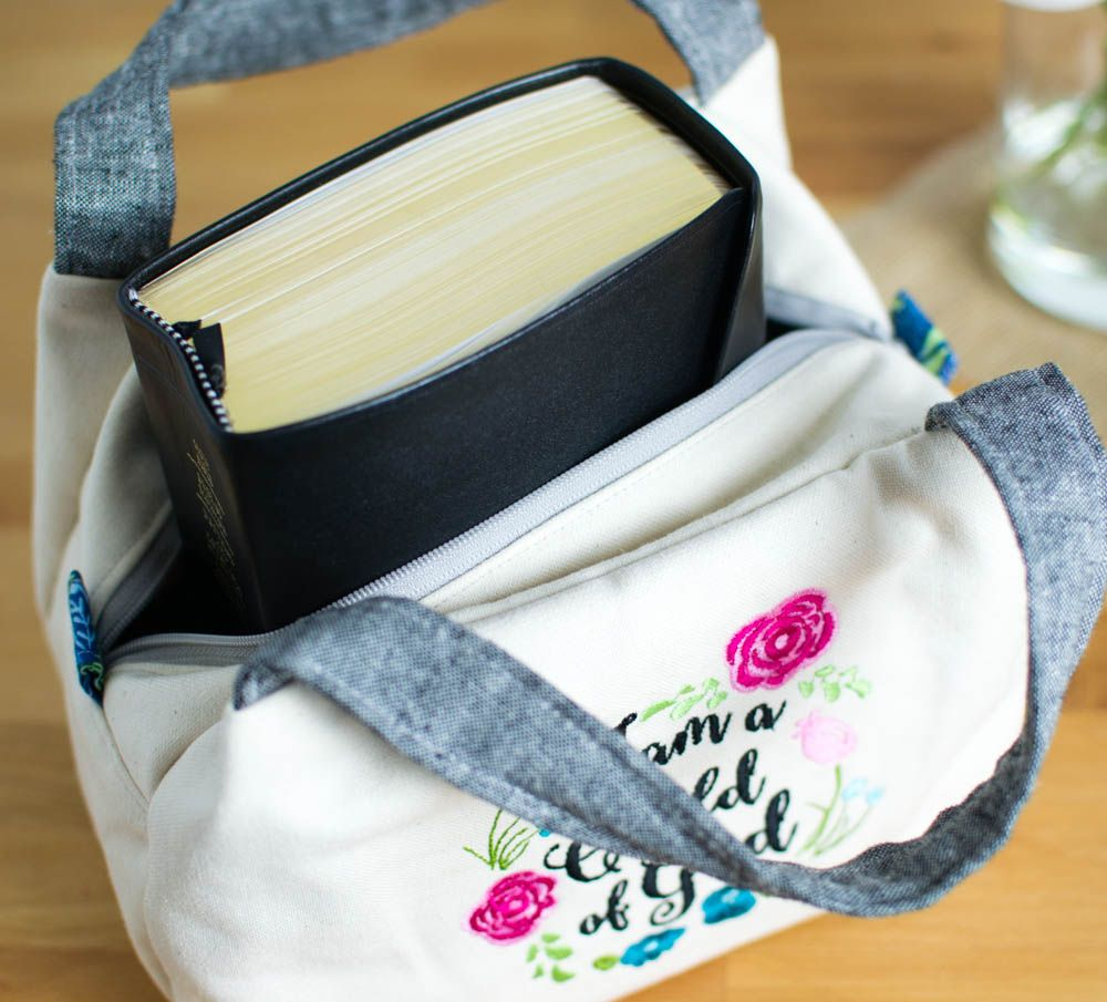Show off Saturday... A Chubby Lunch Tote Scripture Case! — SewCanShe | Free Daily Sewing Tutorials