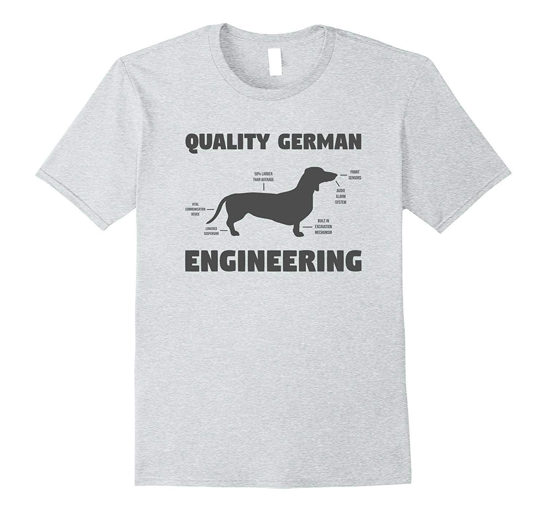 German Engineering Funny Weiner Dog Dachshund T Shirt Dog
