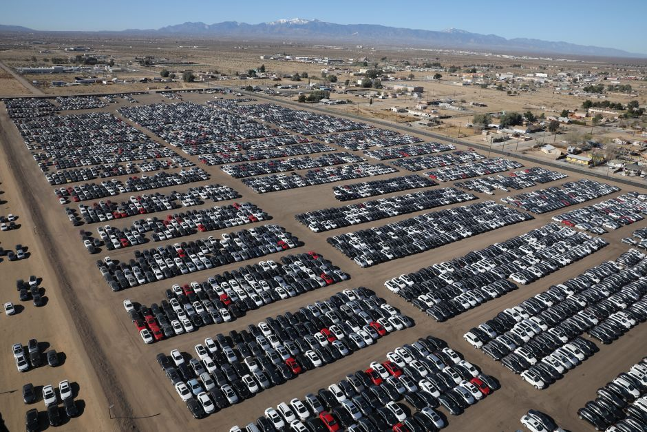 Photos Volkswagen Has Bought Back Thousands Of Diesel Cars In The Us Here S What That Looks Like Diesel Cars Car Dump Volkswagen