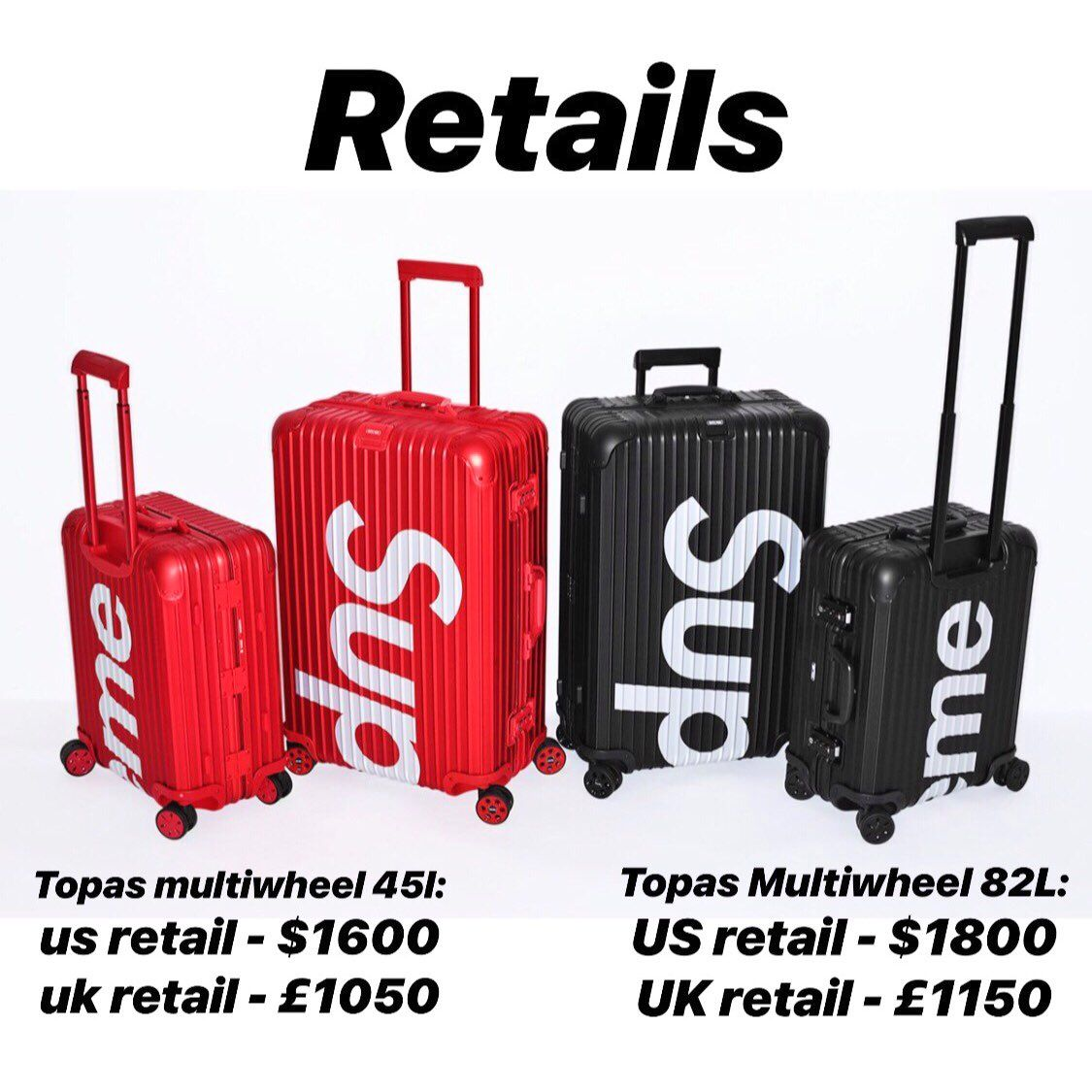 91cba1701a27 Supreme x Rimowa Available in-store NY