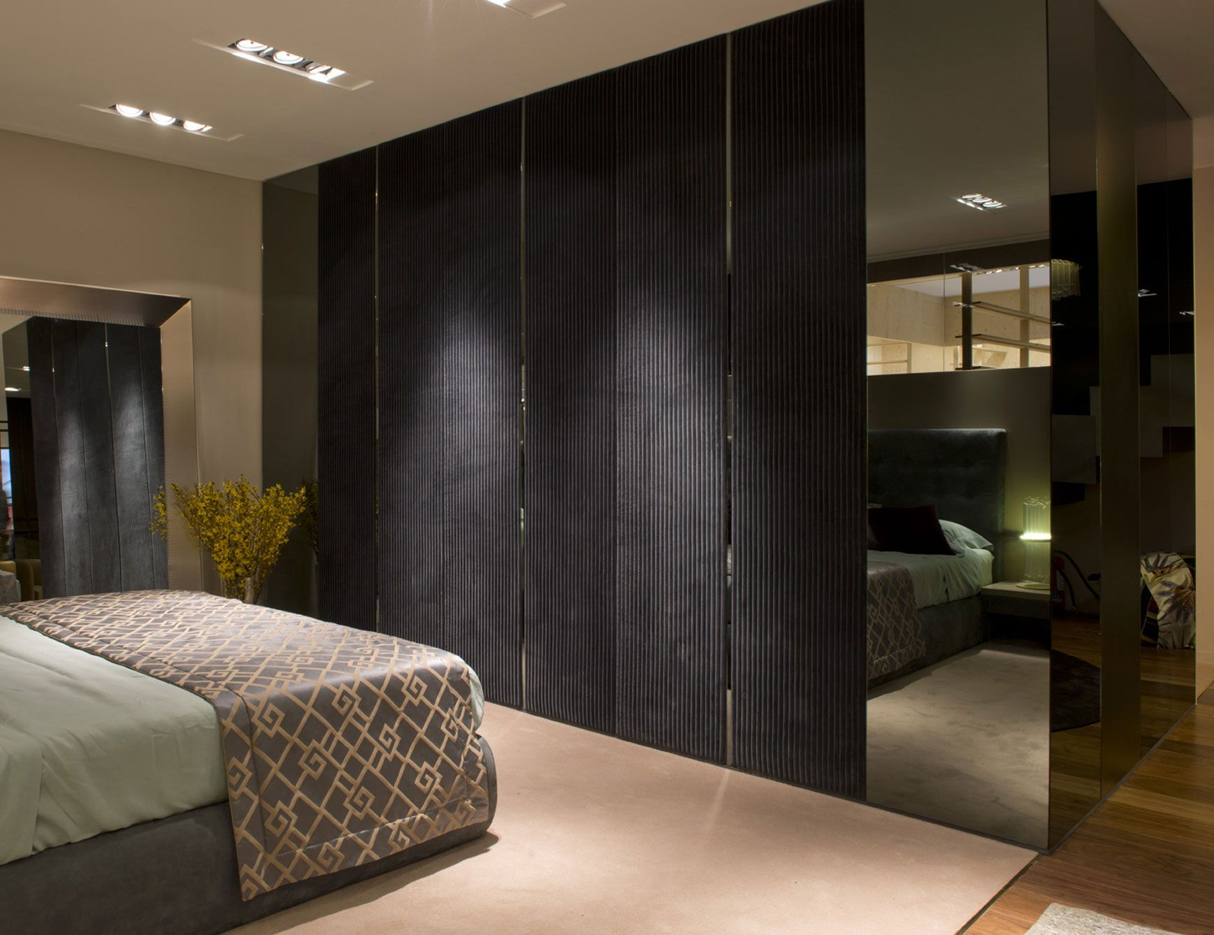 Click To Close Image Click And Drag To Move Use Arrow Keys For Next And Previous Mirror Panels Wall Coverings Tv Wall