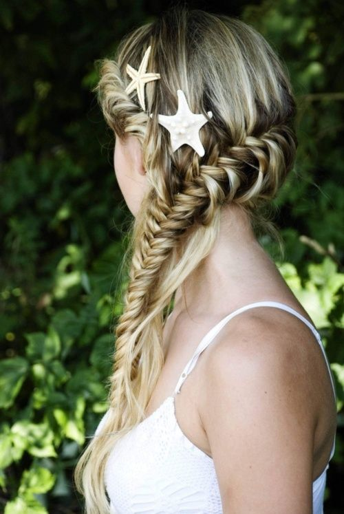 Fishtail Braid Hairstyles Classy Fishtail Braid Mermaid Hair  Little Mermaid  Pinterest  Fishtail