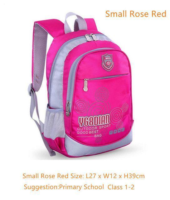 school bags for boys school backpack bookbag children backpacks blue  waterproof nylon book bag girl schoolbag kids small bag 9be9df306b90d