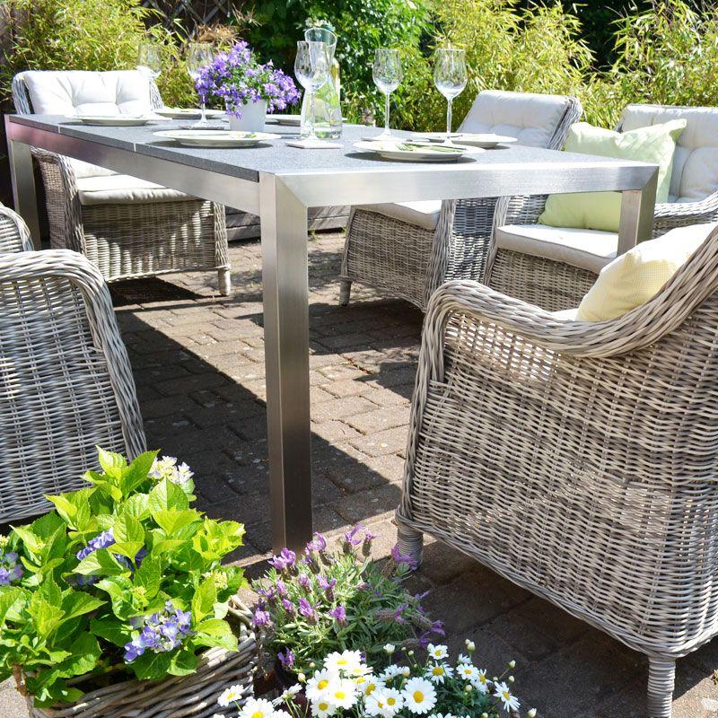 Gartentisch 160x100 Cm Mit Polywood Platte Kaufen Gartentisch Tisch Gartenmobel
