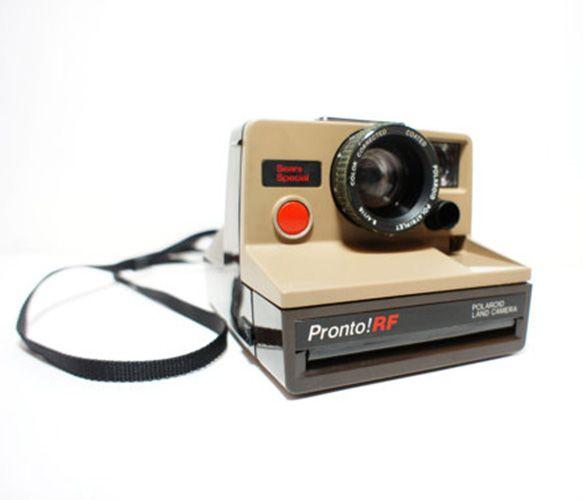 Pronto Polaroid Camera