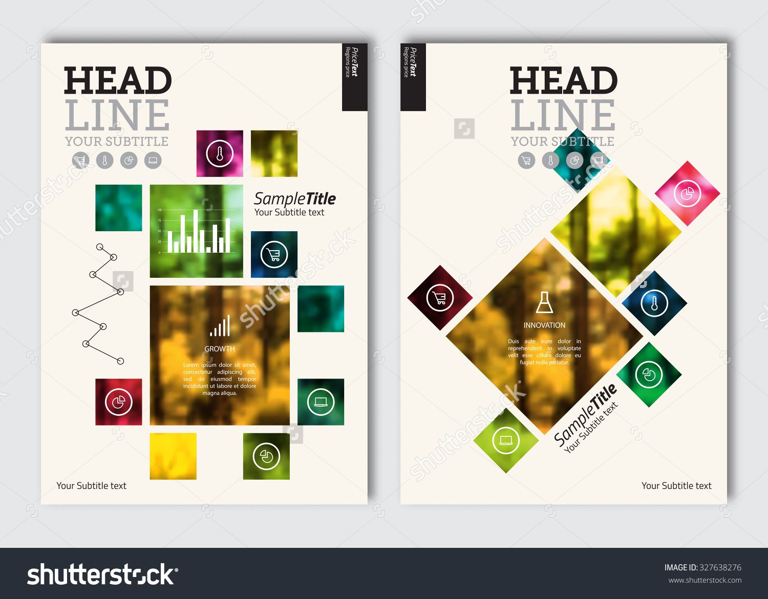 business brochure design template vector flyer layout blur business brochure design template vector flyer layout blur background elements for magazine
