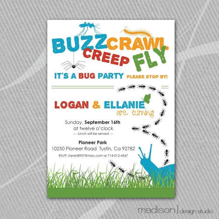 Buzz, Crawl, Creep, Fly