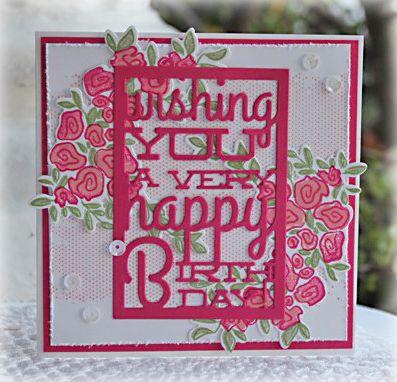 www.papercraft-designs.blogspot.com Birthday card Papertrey Ink