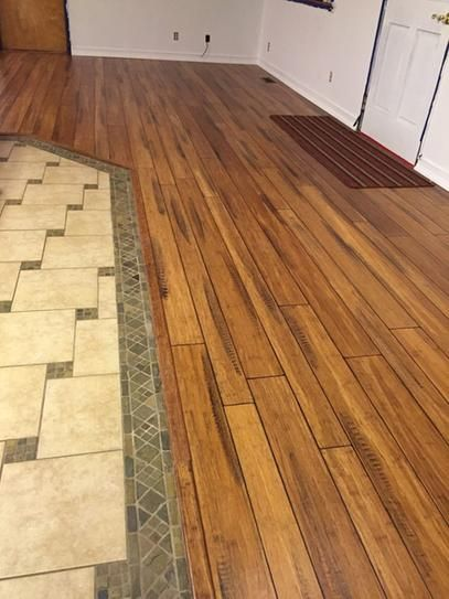 Home Decorators Collection Strand Woven Distressed Dark Honey 1 2 In X Multi Width X 72 In Length Click Lock Bamboo Flooring Wood Floors Wide Plank Flooring