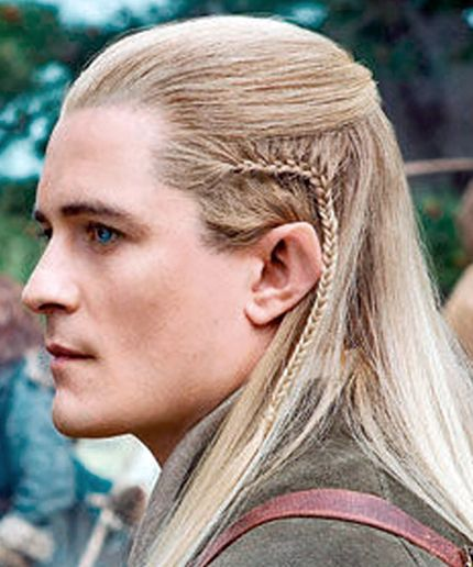 Orlando Bloom Legolas Long Hair Styles Men Hair Styles Viking Hair