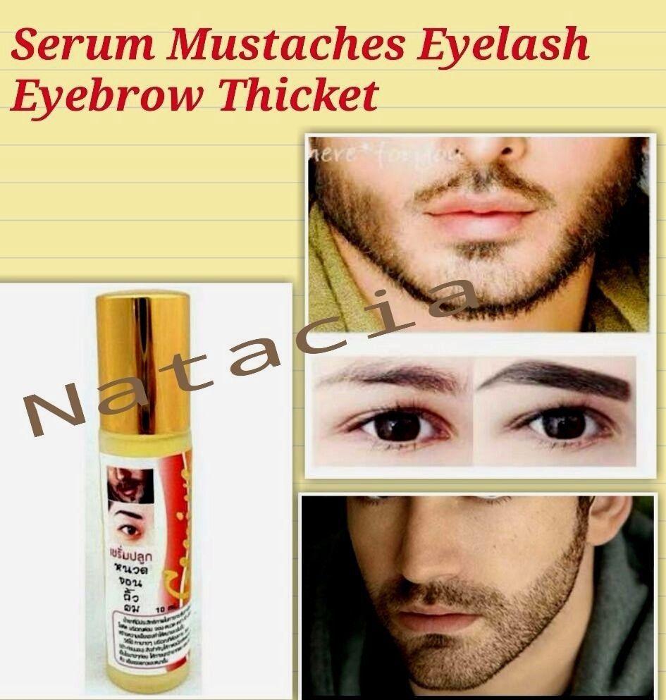 1f55601aafb $5.69 - Genive Growth Serum Longer Thicker Hair Beard Eyebrow Mustache  Fuller Stimulator #ebay #Fashion