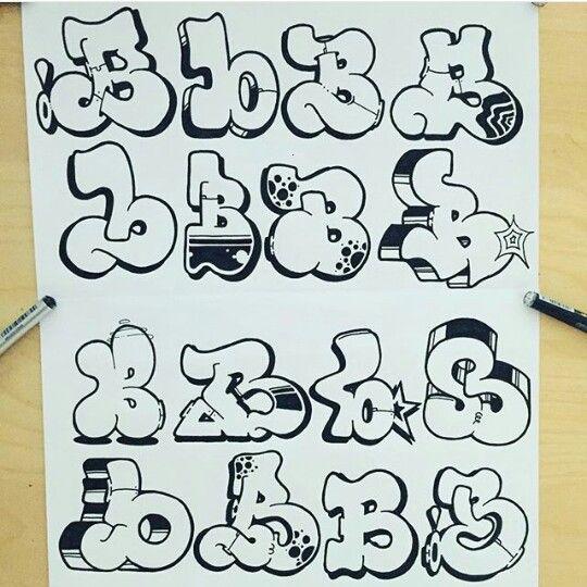Pin de jamer en letters pinterest letras alfabeto de - L alphabet en graffiti ...