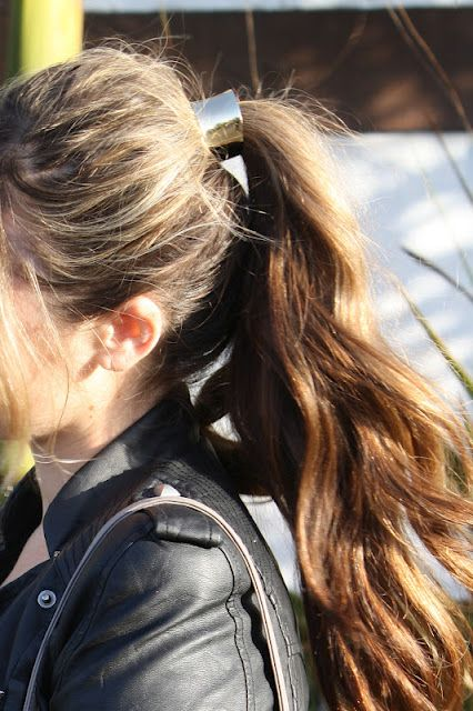 Hair Cuff to Glam UP your ponytail!