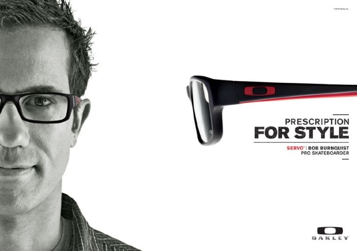 Pro Skateboarder Bob Burnquist In Oakley Servo Cheap Oakley Sunglasses Celebrities With Glasses Oakley Eyewear