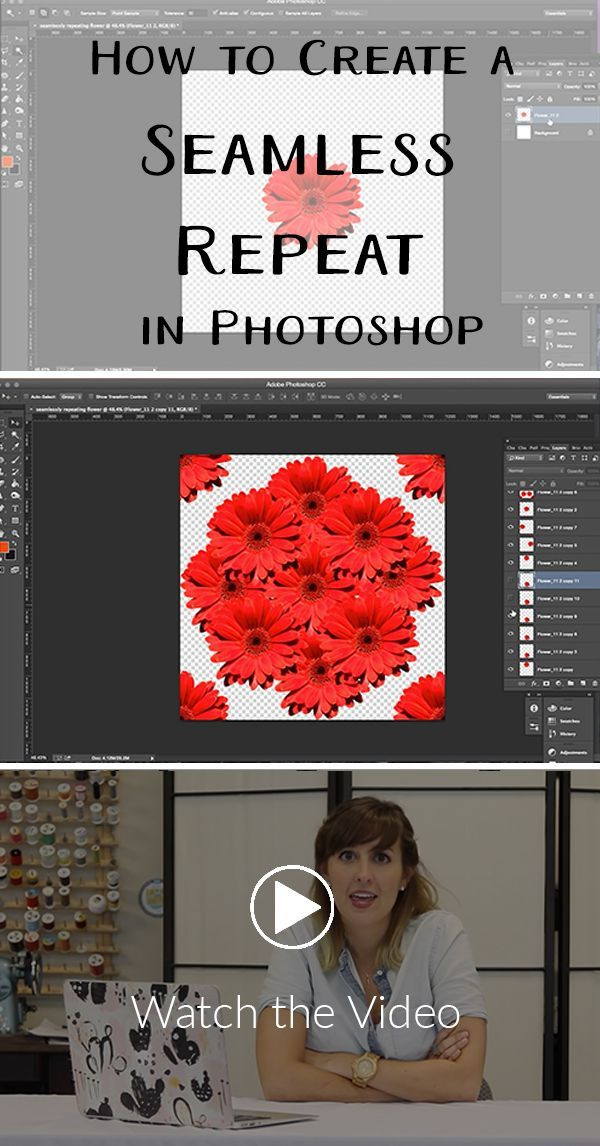 How To Create A Seamless Repeat Pattern With Adobe Photoshop Cc