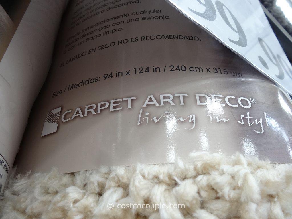 Carpet Art Deco Comfort Shag Rug 8x10 Costco With Images