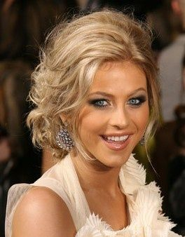 Naturally Curly Updo Hairstyles  Brown this is cute for the wedding!! Kinda like…