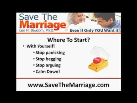 How To Start Saving Your Marriage - WATCH VIDEO HERE -> http://bestdivorce.solutions/how-to-start-saving-your-marriage-3   	 SAVE YOUR MARRIAGE STARTING TODAY (Click for more info…)   Are You Ready To Start Saving Your Marriage? This video will help you learn what you need to do to start the process so you can save the marriage. Start here.    Video credits to Lee Baucom YouTube channel