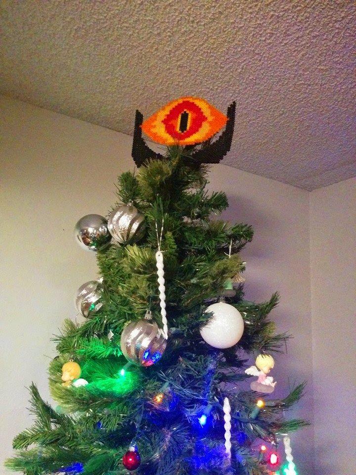 Christmas Holidays Christmas Tree Tree Topper Geeky Tree Topper