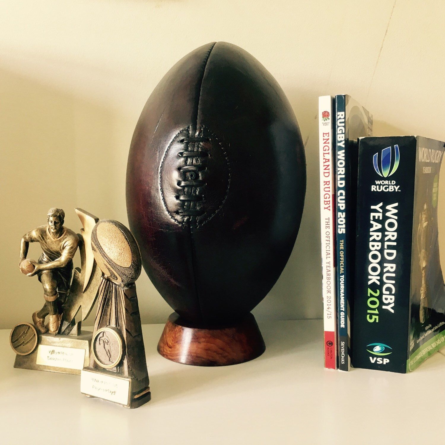The rugby ball full sized or mini is perfect in any rugby