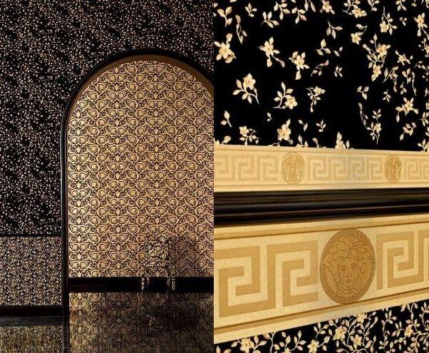 versace announces the new wallpaper collection. | tv wall decor ... - Bubble Sofa Von Versace
