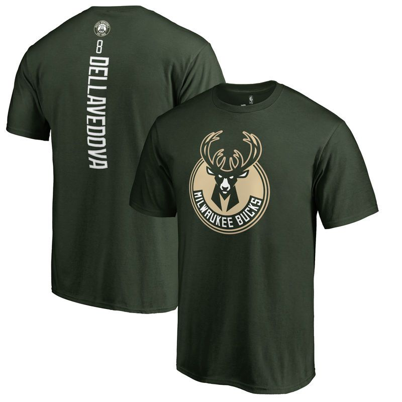 Matthew Dellavedova Milwaukee Bucks Big & Tall Backer T-Shirt - Green