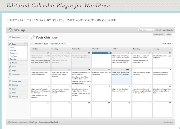 How To Create A Social Media Editorial Calendar  Writing