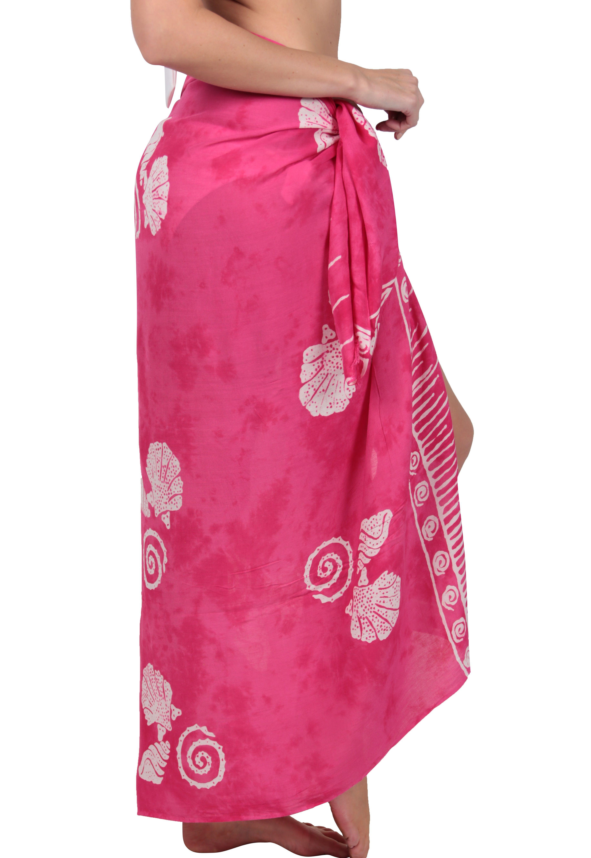 a0bfa20f0b1 Ingear Print Sarong Beachwear Wrap Skirt Summer Pareo Handmade Swimsuit  Cover Up Beachwear