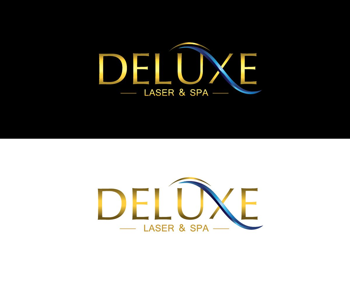 Deluxe Laser Spa Logo Design Business Card Design Inspiration Spa Logo